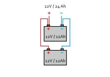 batteries en parallele