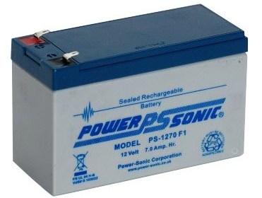 Batterie PowerSonic 7 Ah pour sondeur