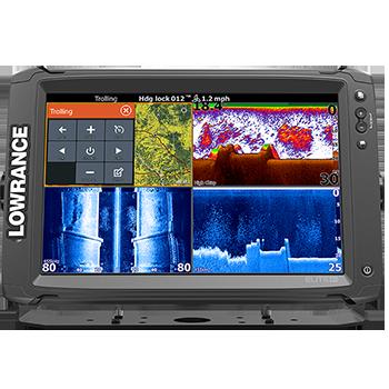 Lowrance Elite Ti 12 avec TotalScan