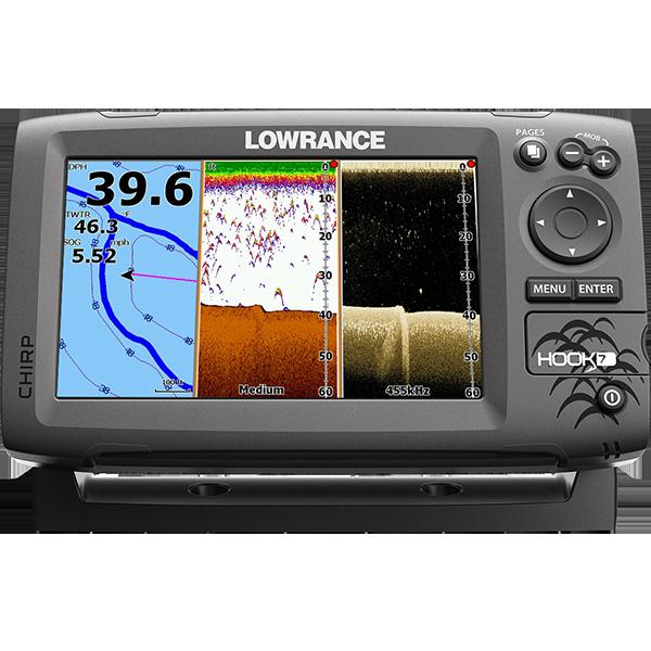Lowrance Hook 7 CHIRP