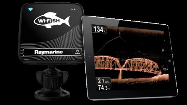 Raymarine Dragonfly PRO application WiFish