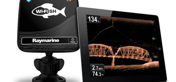 Raymarine Dragonfly PRO application WiFish