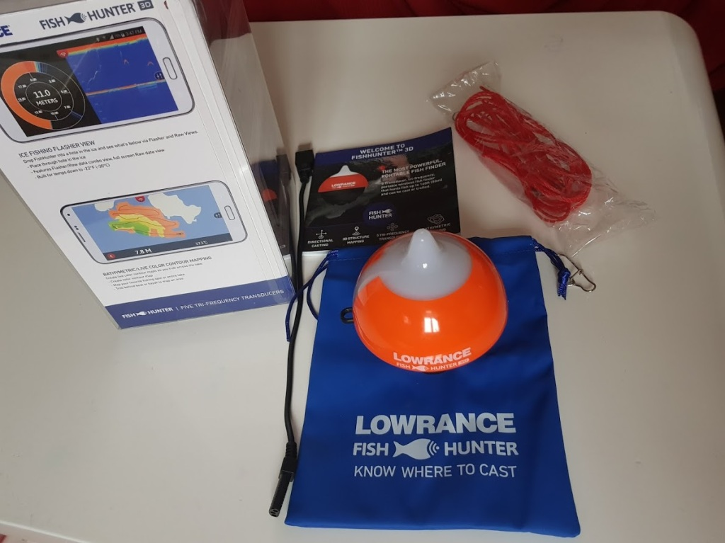 unboxing lowrance fishhunter3d