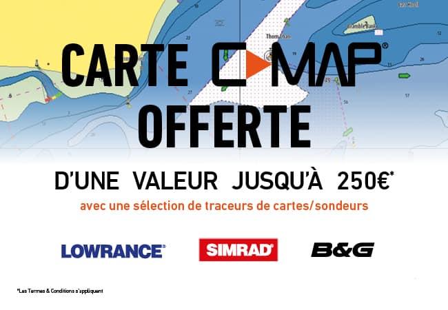 Carte gratuite CMAP jusqu'au 30 avril pour tout achat d'un appareil Lowrac,e